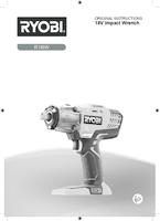 Ryobi r18iw c55s user manual