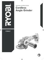 Ryobi   r18ag7 user manual