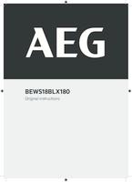 Aeg bews18blx180 0 user manual