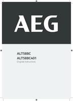 Aeg alt58bc401 user manual