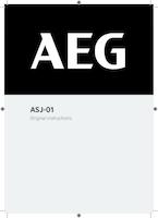 Aeg asj user manual
