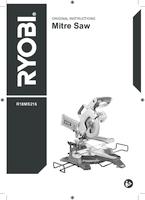 Ryobi r18ms216 0 user manual