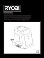 Ryobi r18pd ll13g manual 3