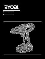 Ryobi r18pd ll13g manual 1